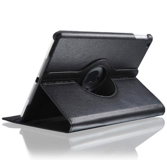 """Черный кожаный чехол Magnetic 360 для iPad Air/9.7"""" (2017)"""