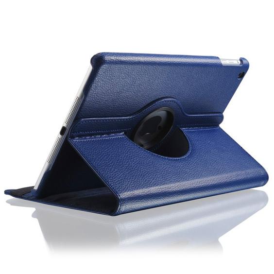 Синий кожаный чехол Magnetic 360 для iPad Air