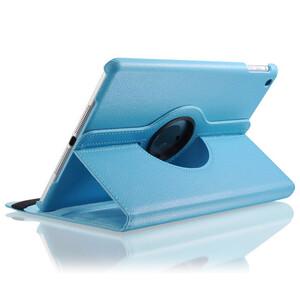 Купить Голубой кожаный чехол Magnetic 360 для iPad Air 2