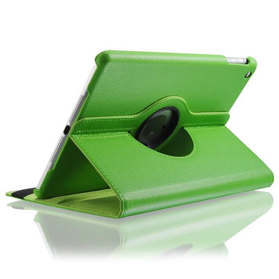 Салатовый кожаный чехол Magnetic 360 для iPad Air
