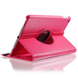 Розовый кожаный чехол Magnetic 360 для iPad Air 2