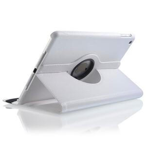 Купить Белый кожаный чехол Magnetic 360 для iPad Air 2