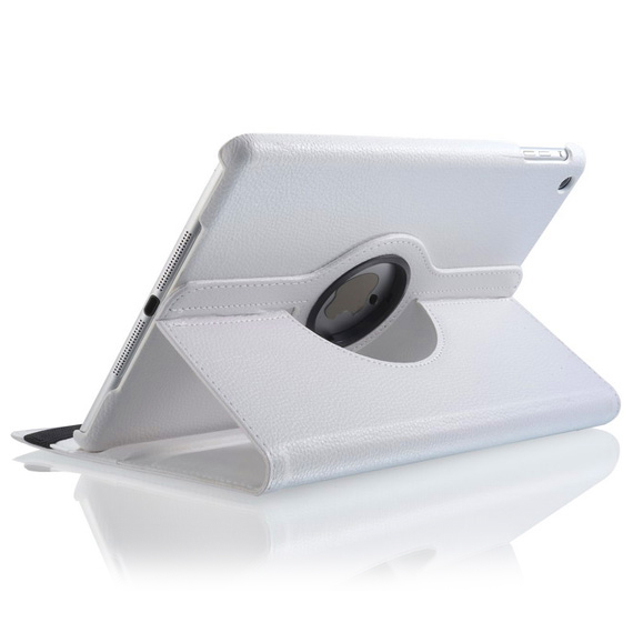 "Белый кожаный чехол iLoungeMax Magnetic 360 для iPad Air | 9.7"" (2017 | 2018)"