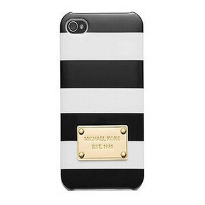 Купить Чехол Michael Kors Striped Black для iPhone 5/5S/SE