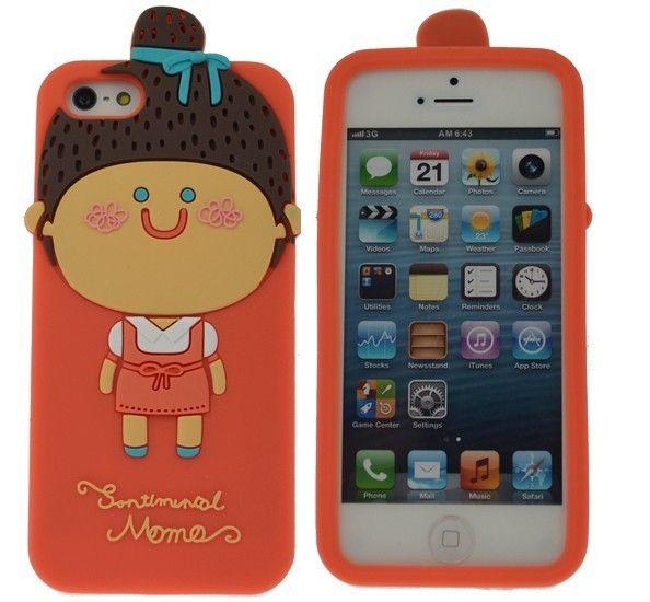 3D чехол Momo's Girl для iPhone 5/5S/SE