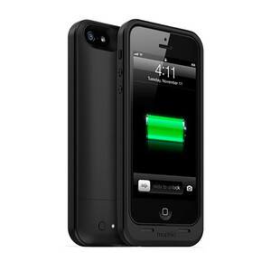 Купить Чехол Mophie Juice Pack Air Black для iPhone 5/5S/SE