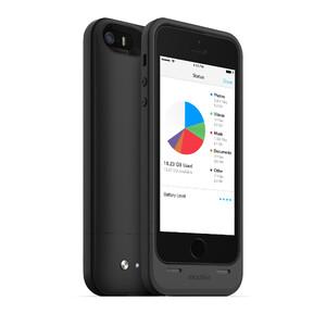Чехол Mophie Space Pack 32GB с аккумулятором и памятью для iPhone 5/5S