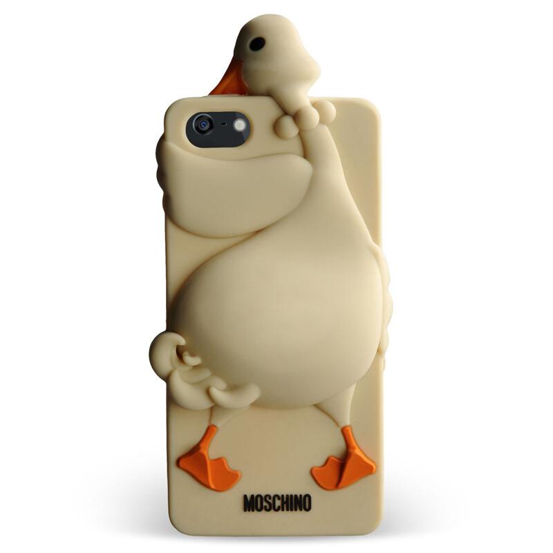Чехол Moschino 3D Goose Luisa для iPhone 4/4S