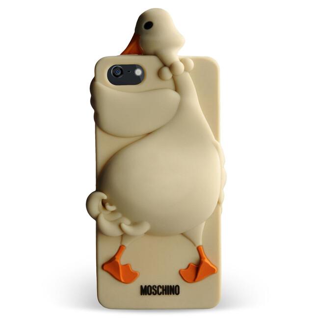 Чехол Moschino 3D Goose Luisa для iPhone 5/5S/SE