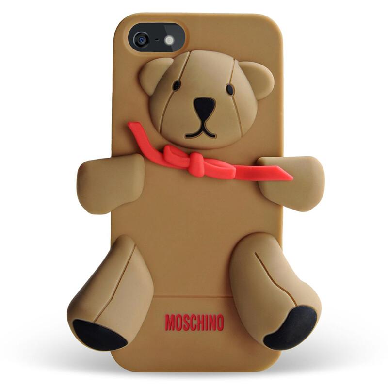 Чехол Moschino 3D Teddy Gennarino для iPhone 5/5S/SE