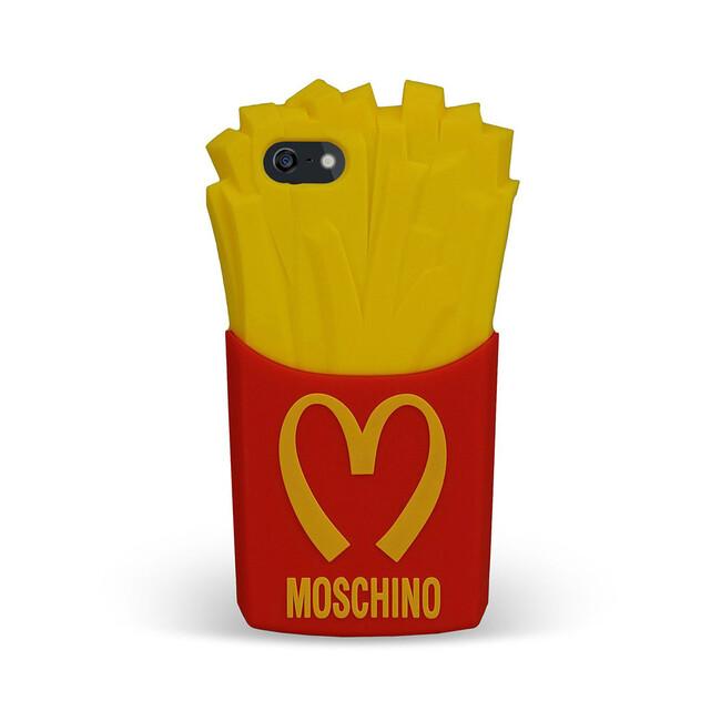 Чехол Moschino McDonald's для iPhone 5/5S/SE