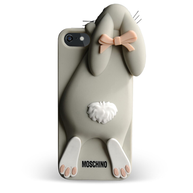Чехол Moschino 3D Rabbit Violetta для iPhone 5/5S/SE