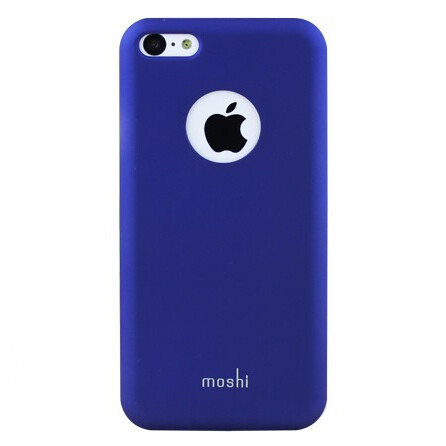 Чехол moshi iGlaze XT Dark Blue для iPhone 5C