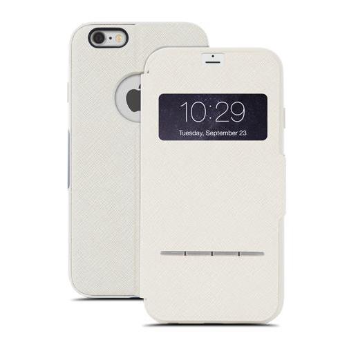 Чехол moshi SenseCover Touch-Sensitive Flip для iPhone 6/6s Plus Бежевый