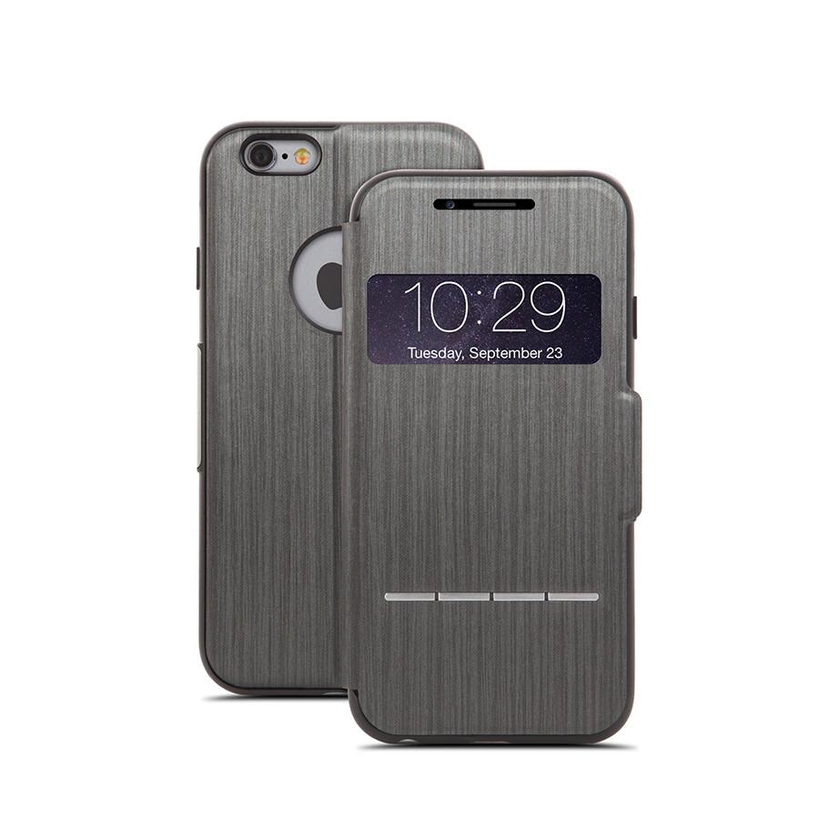 Чехол moshi SenseCover Touch-Sensitive Flip для iPhone 6/6s Черный