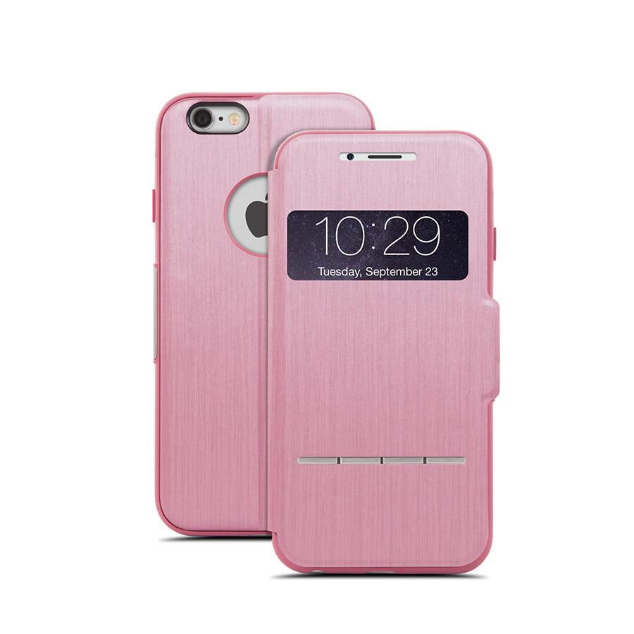 Чехол moshi SenseCover Touch-Sensitive Flip для iPhone 6/6s Розовый