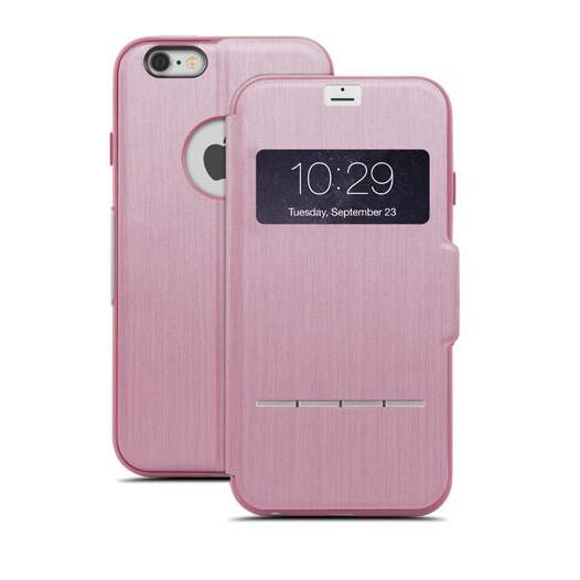 Чехол moshi SenseCover Touch-Sensitive Flip для iPhone 6 Plus/6s Plus Розовый