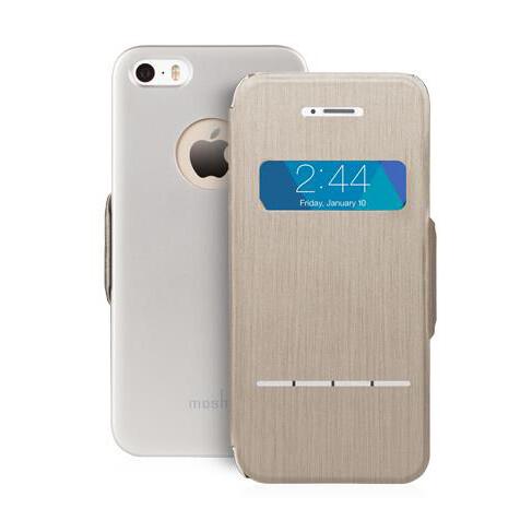 Чехол moshi SenseCover Titanium для iPhone 5/5S/SE