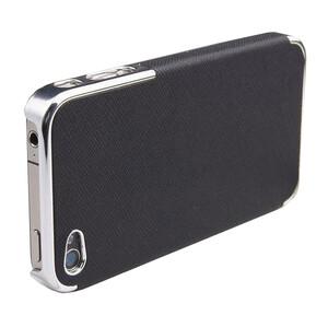 Купить Чехол-накладка OYO Chrome для iPhone 4/4S Черный