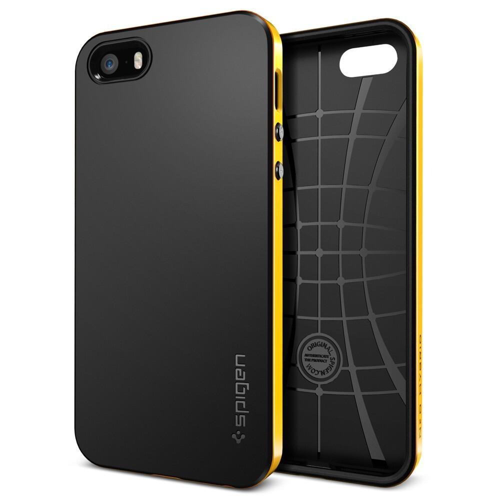 Чехол SGP Neo Hybrid Reventon Yellow OEM для iPhone 5/5S/SE