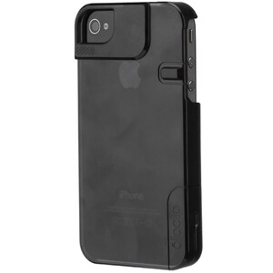 Купить Чехол Olloclip Quick Flip Black для iPhone 4/4S