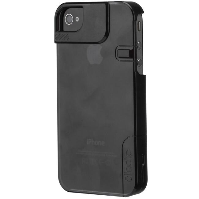 Чехол Olloclip Quick Flip Black для iPhone 4/4S