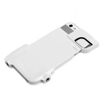 Чехол Olloclip Quick Flip-Case White для iPhone 5/5S/SE