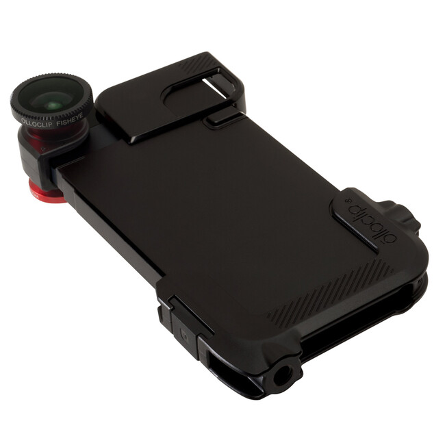 Чехол Olloclip Quick Flip-Case Black для iPhone 5/5S/SE
