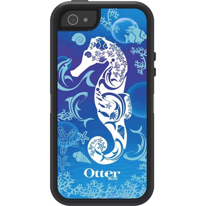Чехол Otterbox Defender Waves Blue для iPhone 5/5S/SE