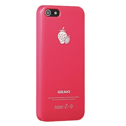 Чехол Ozaki O!coat Fruit Strawberrie для iPhone 5/5S/SE
