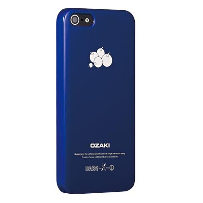 Чехол Ozaki O!coat Fruit Blueberry для iPhone 5/5S/SE