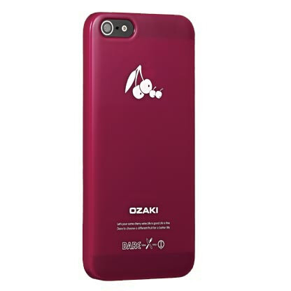 Чехол Ozaki O!coat Fruit Cherry для iPhone 5/5S/SE