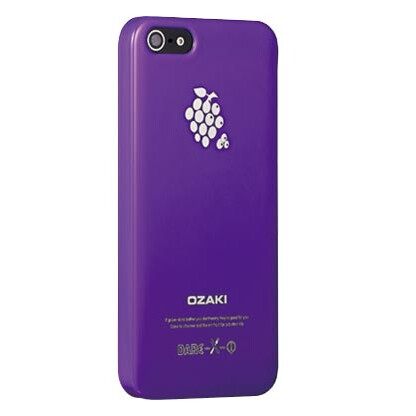 Чехол Ozaki O!coat Fruit Grape для iPhone 5/5S/SE