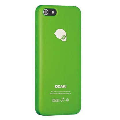Чехол Ozaki O!coat Fruit Lemon для iPhone 5/5S/SE
