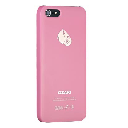 Чехол Ozaki O!coat Fruit Peach для iPhone 5/5S/SE