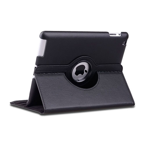 Черный чехол 360 Degree для iPad 4/3