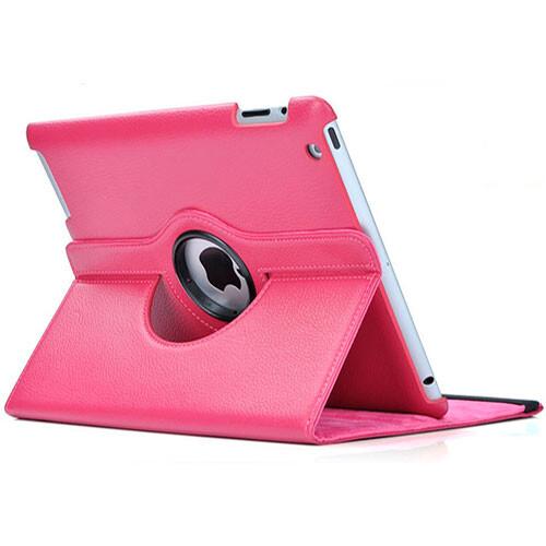 Розовый чехол 360 Degree для iPad 4/3