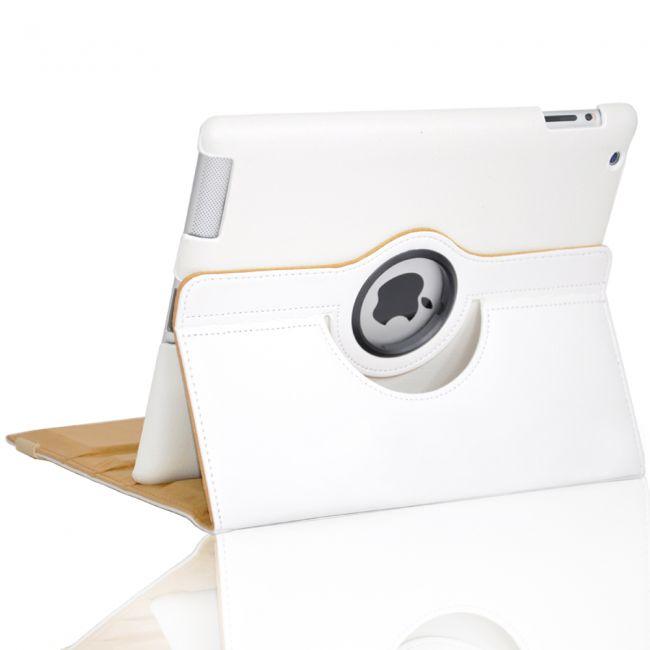 Белый чехол 360 Degree для iPad 4/3
