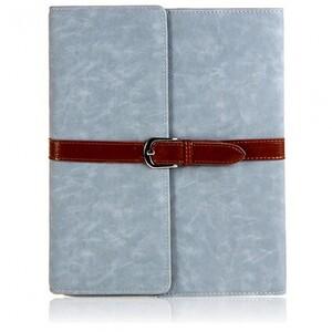 Купить Чехол с застежкой Retro Buckle Blue для iPad Air