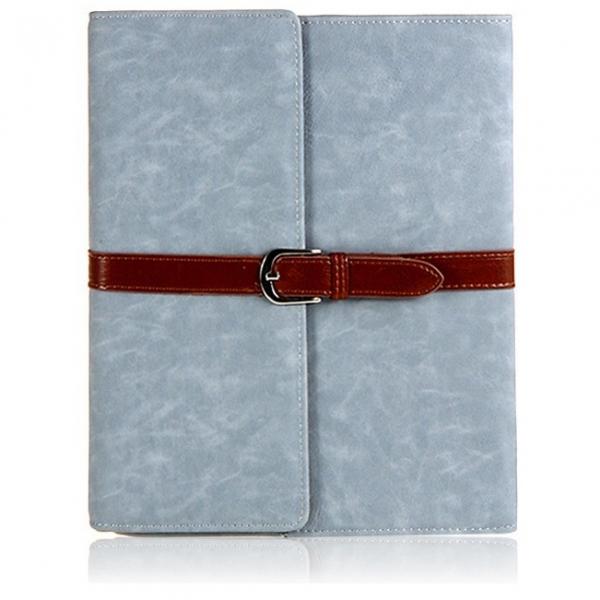 Чехол с застежкой Retro Buckle Blue для iPad Air