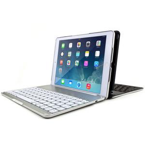 Купить Алюминиевый чехол AddKee Backlit White с клавиатурой для iPad Air 2