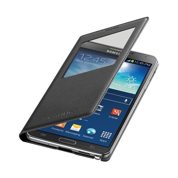 Чехол Samsung S-View Flip Cover OEM для Galaxy Note 3 Черный