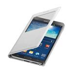 Чехол oneLounge Samsung S-View Flip Cover для Galaxy Note 3 Белый (Лучшая копия)