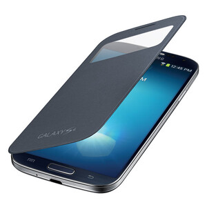 Чехол Samsung S-View Flip Cover для Galaxy S4 Черный