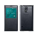 Чехол Samsung S-View Flip Cover OEM для Galaxy S5 Черный