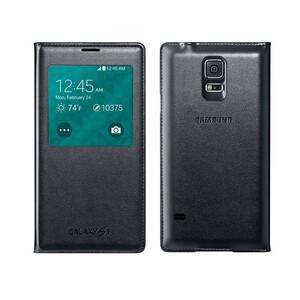 Купить Чехол Samsung S-View Flip Cover OEM для Galaxy S5 Черный