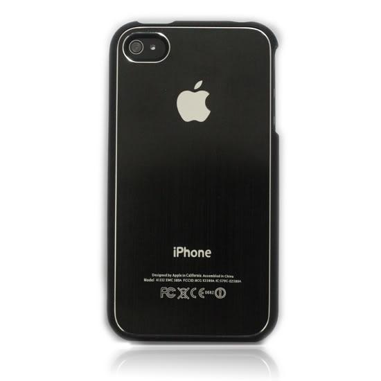 Чехол SGP Brushed Aluminum для iPhone 4/4S
