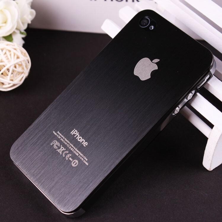Металлический чехол SGP Brushed Aluminum для iPhone 5/5S/SE