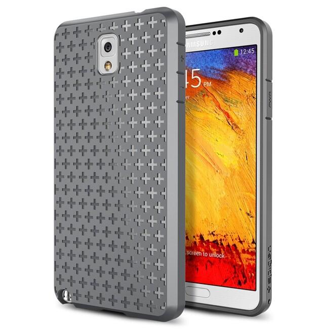 Чехол Spigen SGP Bounce Gray OEM для Samsung Galaxy Note 3