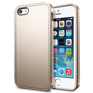 Купить Чехол SGP Linear Metal Series Champagne Gold OEM для iPhone 5/5S/SE